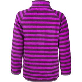Color Kids Vilbur Mini Fleece Jacket AOP Dark Purple